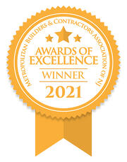 2021 Awards of Excellence Winner GTG Builders in NJ
