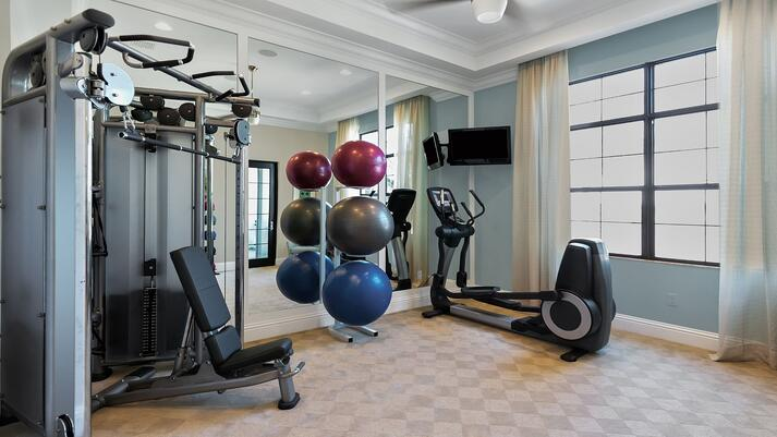 1 Custom Home Gym in New Jersey by GTG Builders