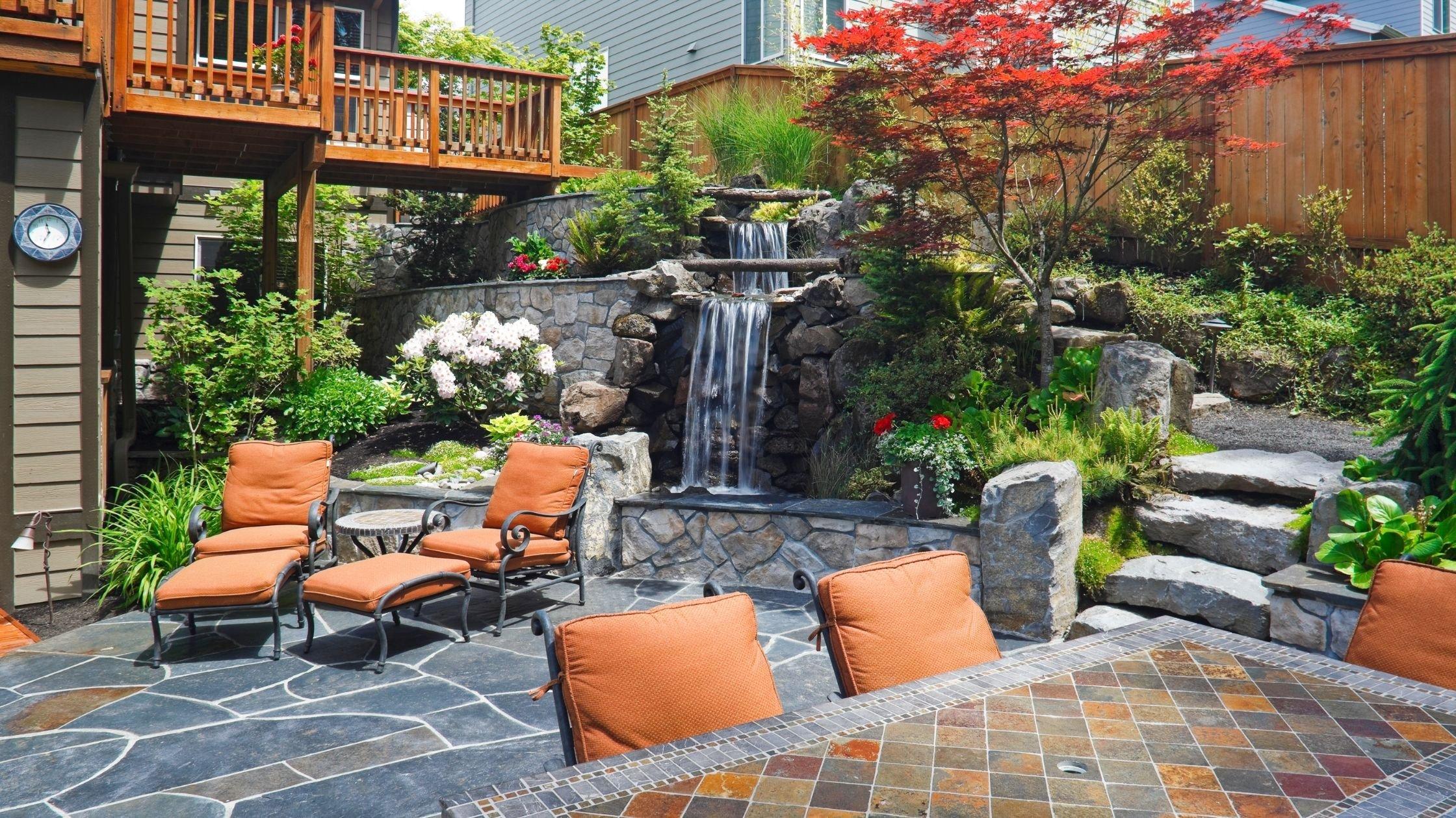 4 Custom Outdoor Living Space in New Jersey by GTG Builders