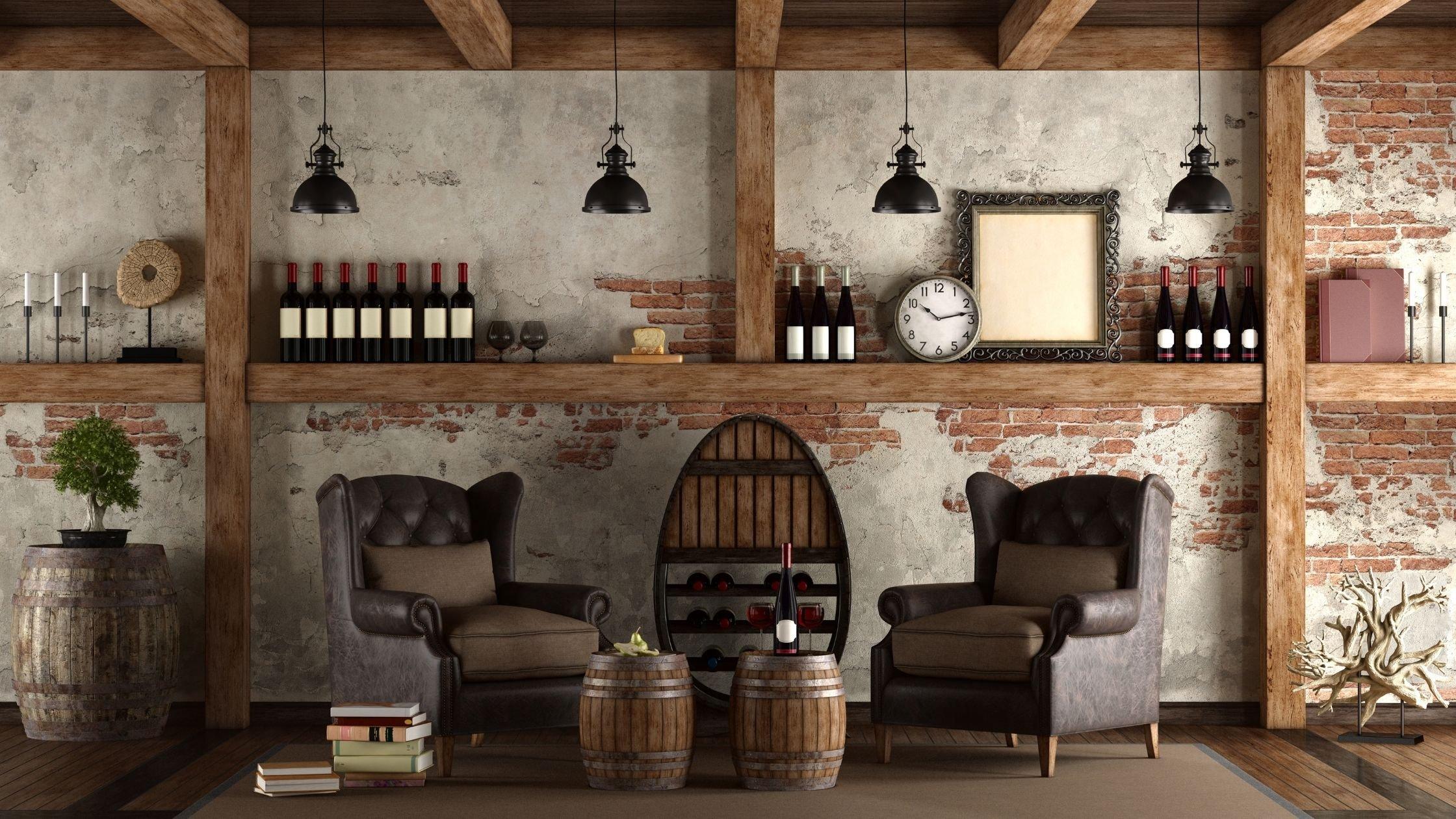 6 Custom Home Wine Cellar in New Jersey by GTG Builders
