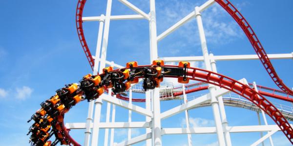 Roller Coaster on Long Beach Island NJ