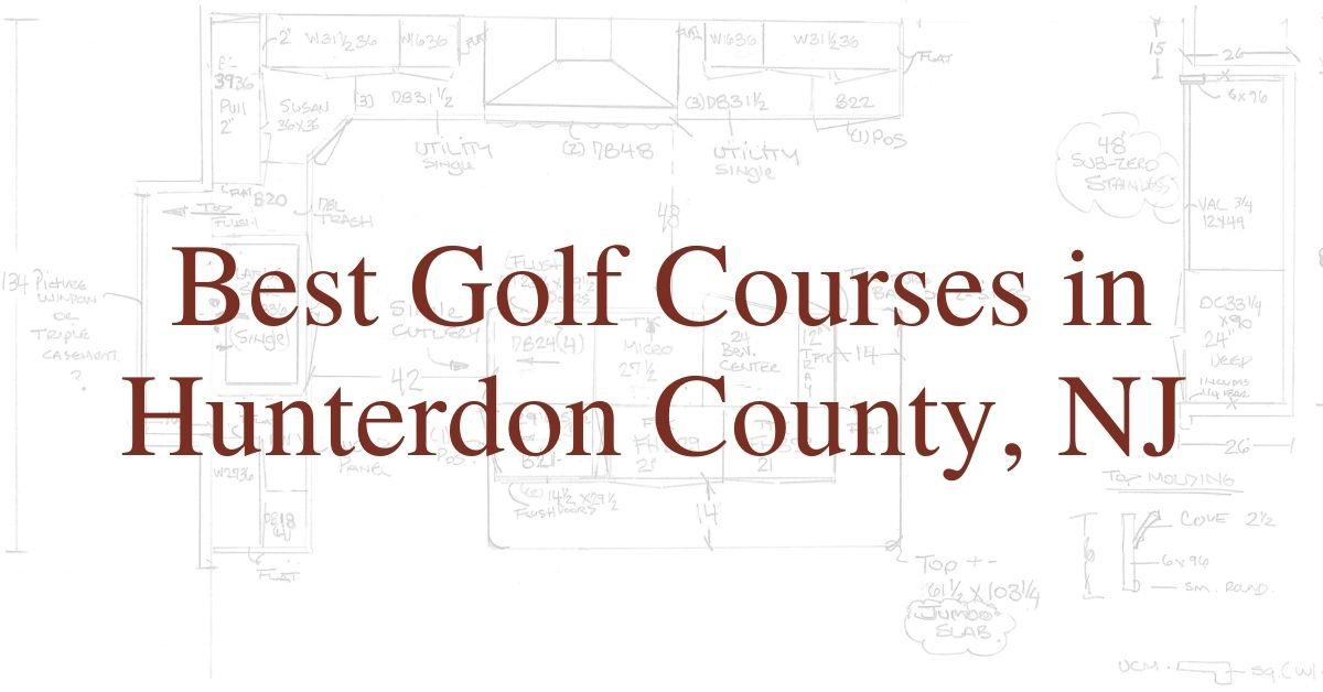 Best Golf Courses in Hunterdon County, NJ