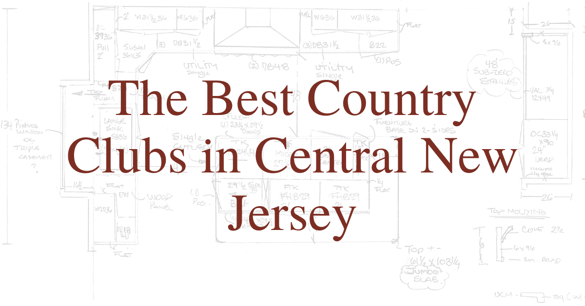 The Best Country Clubs in Central New Jersey