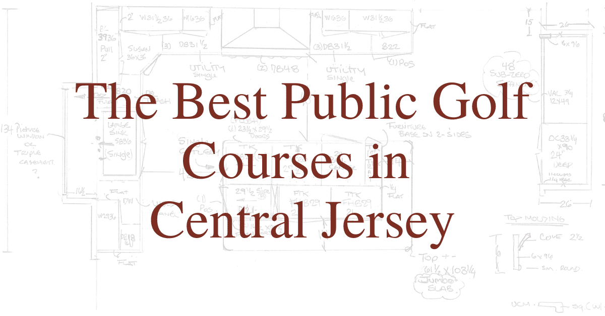 The Best Public Golf Courses in Central Jersey
