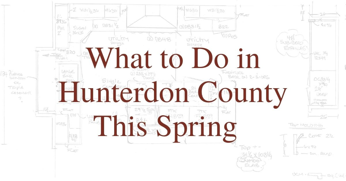 What to Do in Hunterdon County This Spring